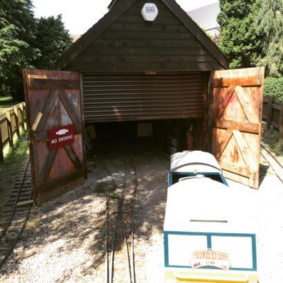 Miniture Railway Chester Shutter
