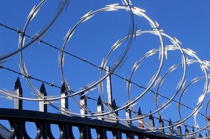 Razor Wire Security Shutters Chester Shield Roller Shutters